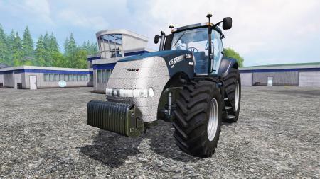 Мод трактор CASE IH MAGNUM CVT 435 для Farming Simulator 2015