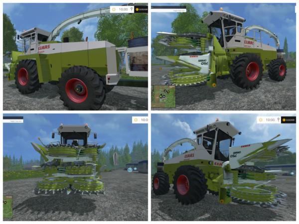 Мод комбайн CLAAS JAGUAR 685 для Farming Simulator 2015