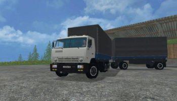 Мод грузовик Камаз KAMAZ 53212 GKB для Farming Simulator 2015