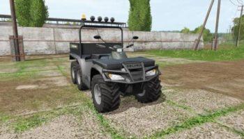 Мод квадроцикл POLARIS SPORTSMAN BIG BOSS 6X6 V1.1 для Farming Simulator 2015