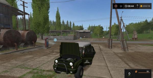 Мод авто УАЗ 3159 V1.0 для Farming Simulator 2015