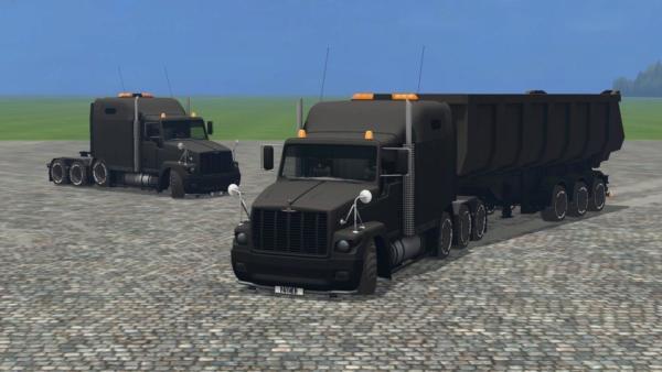 ГАЗ GAZ Titan Black v 4.5 для Farming Simulator 2015
