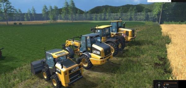 Мод ПАК JCB PACK V1.0 для Farming Simulator 2015