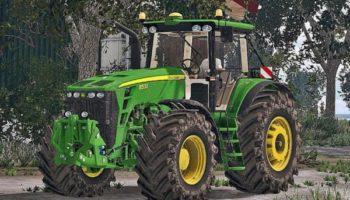 Мод трактор John Deere 8530 FH Washable для Farming Simulator 2015
