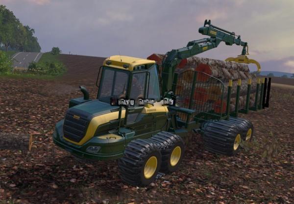 Мод Ponsse Buffalo with Autoload v 2.0 для Farming Simulator 2015