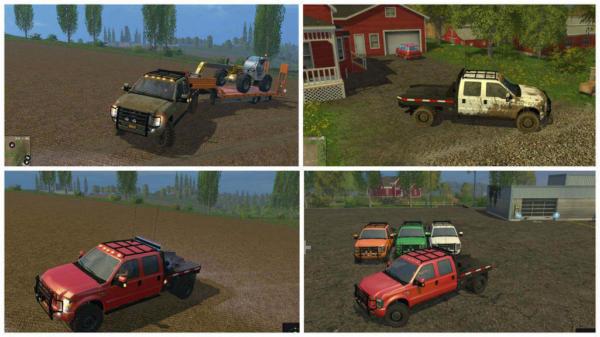 Мод авто Ford Diesel v 1.0 для Farming Simulator 2015