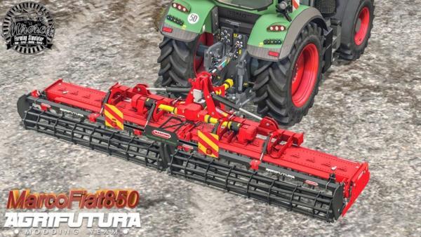Мод культиватор Maschio Gabbiano 6000 Super 1.0 для Farming Simulator 2015