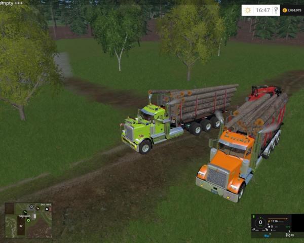 Мод кузов Transp Maderero ITRunner v 1.0 для Farming Simulator 2015