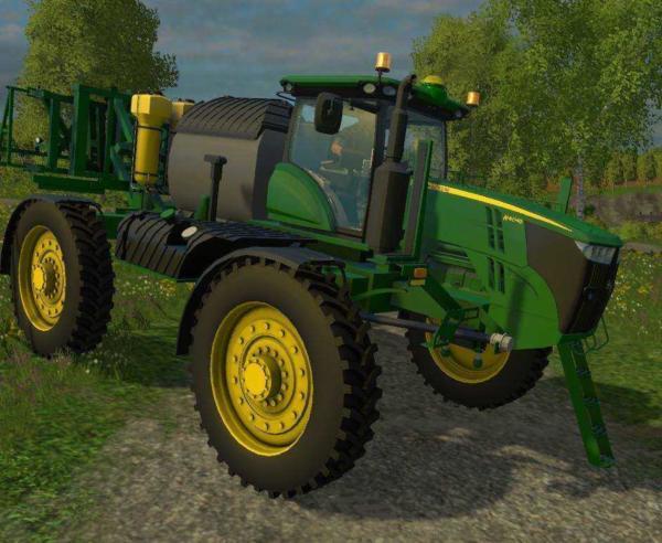 Мод опрыскиватель John Deere 4045 Sprayer v 1.0 для Farming Simulator 2015