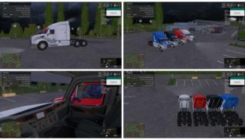 Peterbilt 579 v 1.0 для Farming Simulator 2015