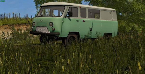 Мод УАЗ-452 БУХАНКА V2.1 для Farming Simulator 2015
