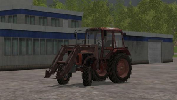 Мод трактор МТЗ MTZ 82 FL для Farming Simulator 2015