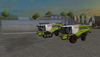 Мод комбайны FS15 Claas Lexion780 Pack для Farming Simulator 2015