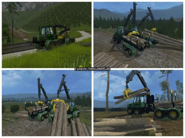 Мод Forwarder Pack v 1.2 для Farming Simulator 2015