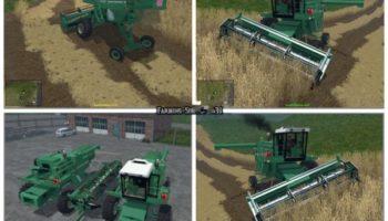 Мод ПАК комбайнов Arbos Pack v1.1 для Farming Simulator 2015