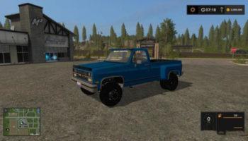 Мод авто 1984 CHEVY K30 для Farming Simulator 2015