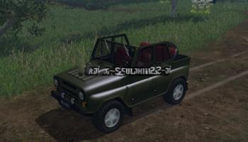 Мод авто УАЗ-469 для Farming Simulator 2015