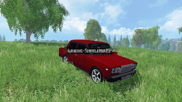 Мод авто ВАЗ Лада 2107 для Farming Simulator 2015