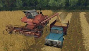 Мод грузовик Газ 53 v 1.0 для Farming Simulator 2015