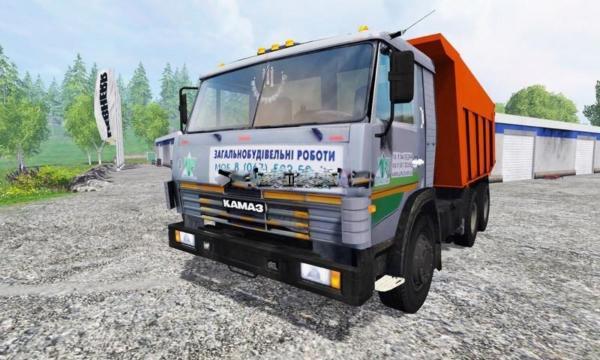 Мод грузовик Камаз KAMAZ 6520 v2.0 для Farming Simulator 2015