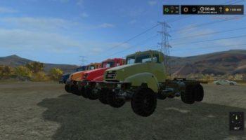 Мод грузовик Краз V18 V1.0 для Farming Simulator 2015