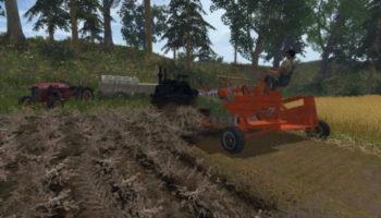 Мод комбайн Binder v1.0 для Farming Simulator 2015