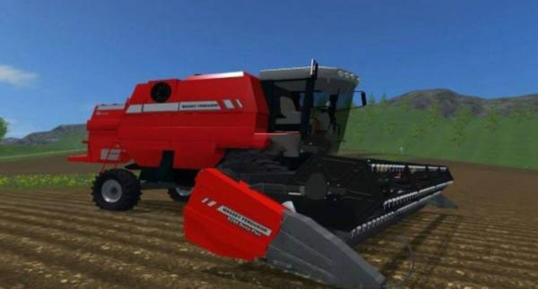 Мод комбайн Massey Ferguson 34 для Farming Simulator 2015