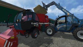Мод кормораздатчик Kuhn SPV 12 v 1.1 для Farming Simulator 2015
