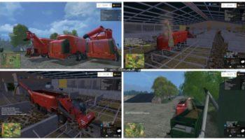 Мод кормораздатчики Kuhn SPV Goliath Pack v 1.0 для Farming Simulator 2015