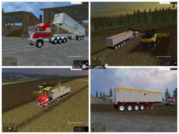 Мод прицеп MAC Dump v 5.0 для Farming Simulator 2015