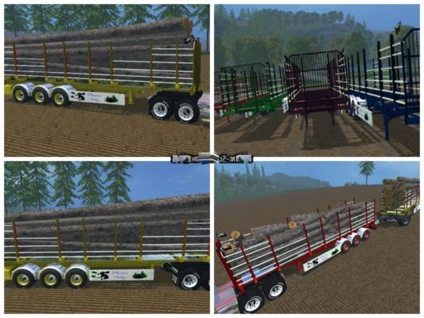 Мод прицеп StarLogger v 3.0 Автопогрузка для Farming Simulator 2015