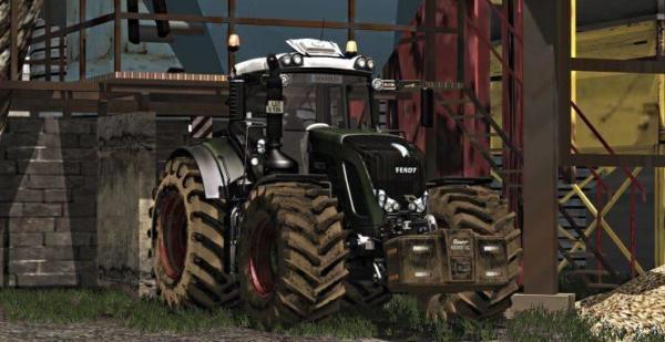 Мод трактор Fendt 936 Vario Black Beauty Washable для Farming Simulator 2015