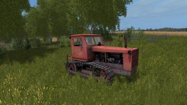 Мод трактор T-4 АЛТАЕЦ для Farming Simulator 2015