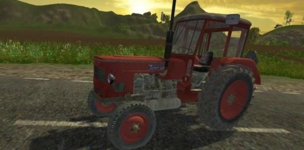 Мод трактор Zetor 4712 для Farming Simulator 2015