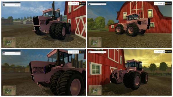 Мод трактора STEIGER PINK PANTHER V1.0 для Farming Simulator 2015