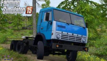 Мод тягач КамАЗ 5410 v 1.0 для Farming Simulator 2015