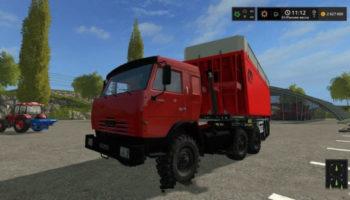 Мод тягач Камаз 54115 V1.0 для Farming Simulator 2015