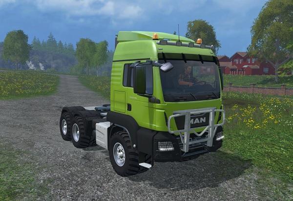 Мод тягач MAN TGS 18.440 v 1.0.0 для Farming Simulator 2015