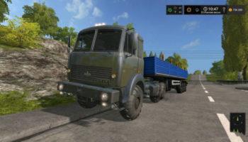 Мод тягач МАЗ 64255 V1.0 для Farming Simulator 2015