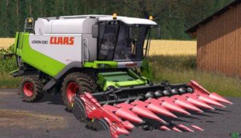 Мод ПАК CLAAS LEXION 530 PACK для Farming Simulator 2015