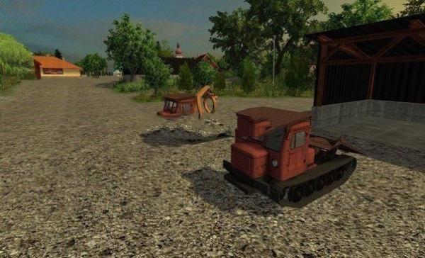 Мод ПАК трелевочных тракторов ТТ-4 для Farming Simulator 2015