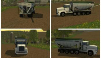 Мод грузовик Freightliner tender truck v 1.0 для Farming Simulator 2015