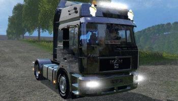 Мод грузовик MAN F2000 19-603 v 1.4 для Farming Simulator 2015