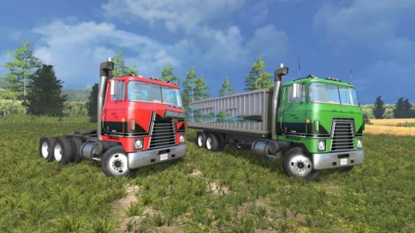 Мод грузовики International Transtar II v 1.2 для Farming Simulator 2015