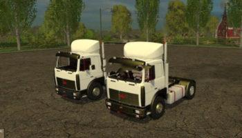 Мод грузовики Maz 5432 & 6422 v 1.0 для Farming Simulator 2015
