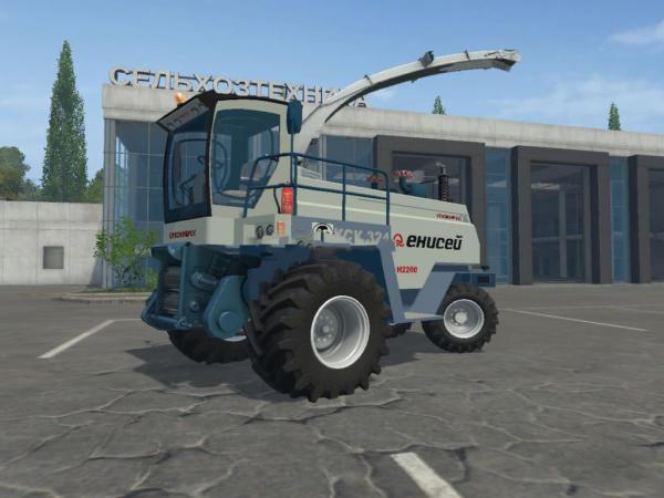 Мод комбайн Енисей 324 Beta для Farming Simulator 2015