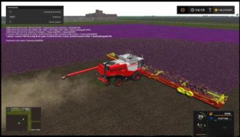 Мод комбайн LEXION 700+3162 DRAPER 90FT COMBI для Farming Simulator 2015