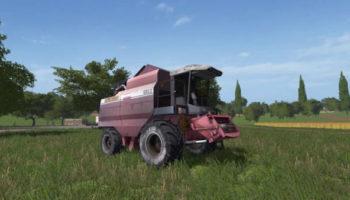 Мод комбайн ПАЛЕССЕ-GS12 для Farming Simulator 2015