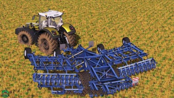 Мод культиватор KOCKERLING ALLROUNDER PF750 для Farming Simulator 2015