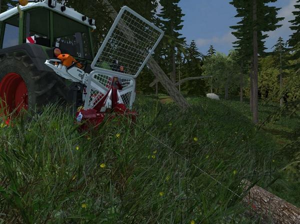 Мод лебедка Forst Winde для Farming Simulator 2015